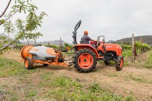 Kubota L-Series with Sprayer