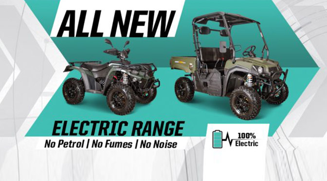 New Linhai Electric Range from Smith Power Equipment