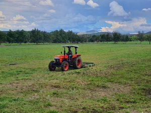 eKubota with Slasher at Grasslands