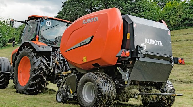 Kubota balers now in South Africa