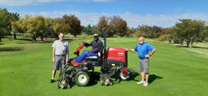 Kyalami Golf Course with new Toro Reelmaster 3575