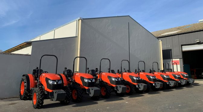 Fruitways M7040 Narrow Tractors New Fleet