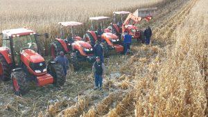 William Copeman and his Tractor Team